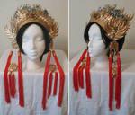 Sun Shang Xiang Headdress by AmethystArmor