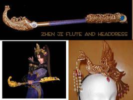 Zhen Ji Costume Items. by AmethystArmor