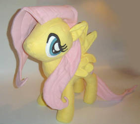 Fluttershy Plushie View 2 by AmethystArmor