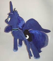 Princess Luna Plushie - My Little Pony FIM View 2 by AmethystArmor
