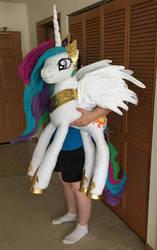 My Latest My Little Pony Plushie - Celestia - Long by AmethystArmor