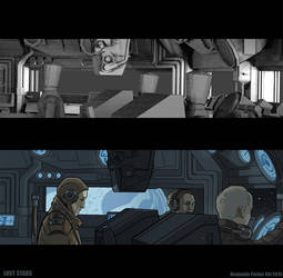 Making of Lost Stars Illustration: Vertol by residentcrow7