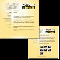 Website: Projeto Informar by psychoduck