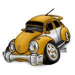 VW Fusca Tuning - InDaFukA by psychoduck