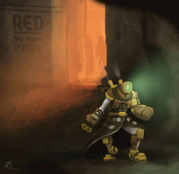 RED City Raider by psychoduck