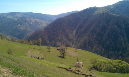 Rural Landscape by Eru-Maamandil