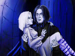 Art trade: Snape and Haruki (Version 2) by JuanaSunfall