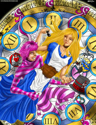 Alice in Wonderland by Lennoue