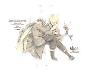 APH: Russia-san alone. by Tian-samaaaa