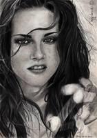 Kristen Stewart by cindy-drawings