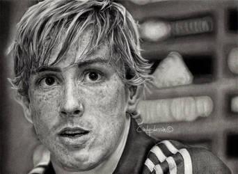 Fernando Torres by cindy-drawings