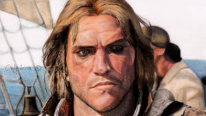 EDWARD KENWAY - Assassin's Creed IV: Black Flag by cindy-drawings