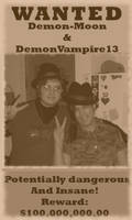 ++Wanted++ by DemonVampire13