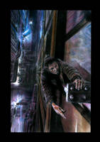Blade Runner Falling by JoelPoischen
