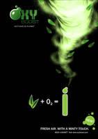 Oxy Boost - Mint Poster by JoelPoischen