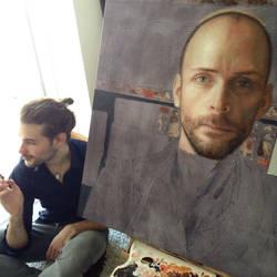 Artist at work by JoelPoischen