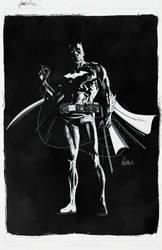 The Dark Knight by JoelPoischen