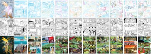 Dinosaur Kid's Comic by JoelPoischen