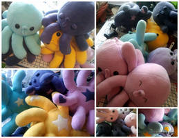 The Colors Octopi by Jonisey