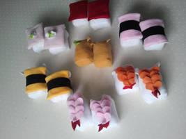 Nigiri Sushi by Jonisey