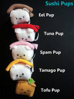 Sushi Pup Stack by Jonisey