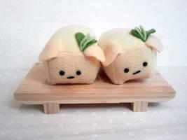 Agedashi Tofu Pups by Jonisey