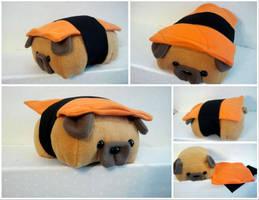 Sushi Pug by Jonisey