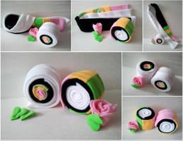 Sushi Roll Scarf by Jonisey