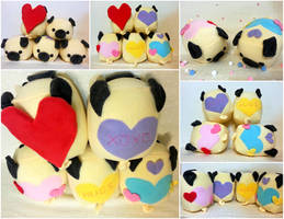 Sweet Pug Loafs by Jonisey
