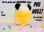 PUG HUGS by Jonisey