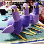 Trash Dove Army WIP by Jonisey