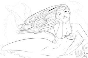 .Ariel.Inked by AshDayArt