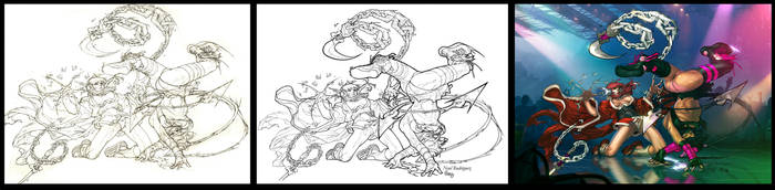 Soochi Scratch v.Goh Goh by AshDayArt