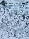Night of the rebel charros by GerardoGomez