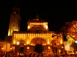 Manila Cathedral by Laraliz