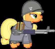[RA Allied] Captain Applejack by A4R91N