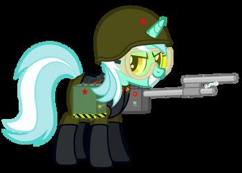 [RA Soviet] Shock Trooper Lyra by A4R91N