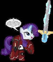 Rarity found a power sword by A4R91N