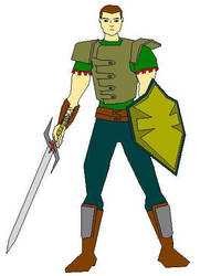Human warrior by rsemente