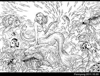 Mermaid by pennyang