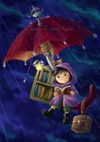 Umbrella Trip by aomarine