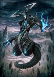 blue daemon by nekoemonn