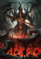 fire daemon by nekoemonn