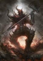daemon hammer by nekoemonn