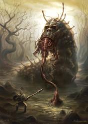 swamp by nekoemonn