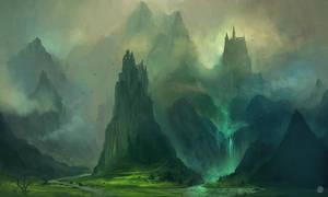 Journey to the Castle by Nele-Diel
