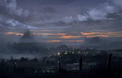 Meeting in the Swamps by Nele-Diel