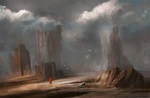 Rocky Desert by Nele-Diel