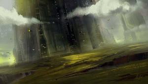 Sci-Fi Tower by Nele-Diel