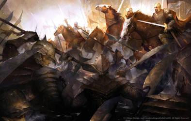 Battle by Nele-Diel